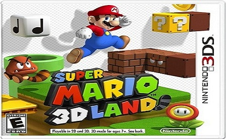 Super Mario 3D Land - pochette