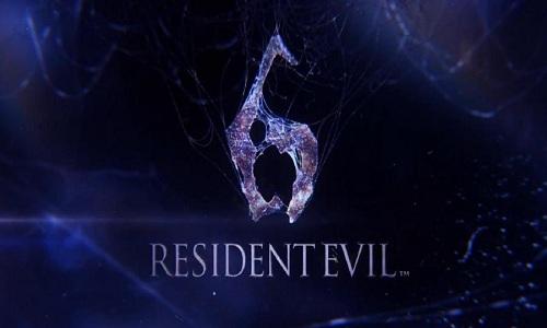 Resident Evil 6 - Menu