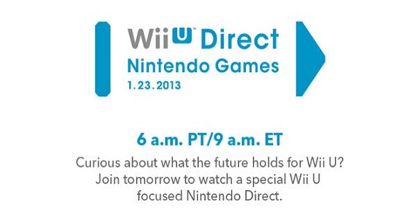 Nintendo Direct - 23-01-2013