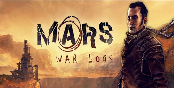 Mars War Logs - logo