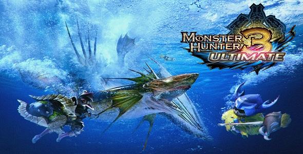 Monster Hunter 3 Ultimate - logo