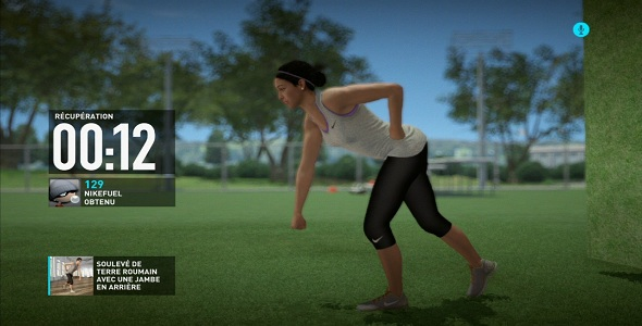 Nike+ Kinect Training #2