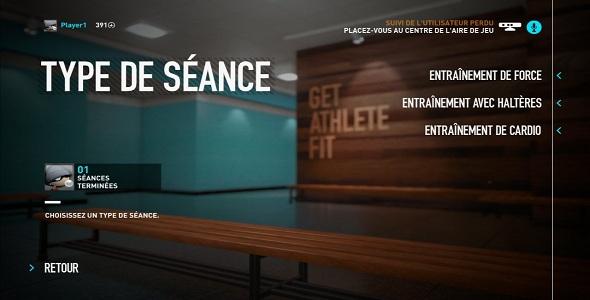 Nike+ Kinect Training #3