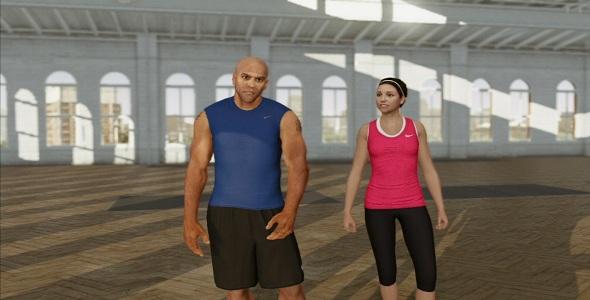 Nike+ Kinect Training #4