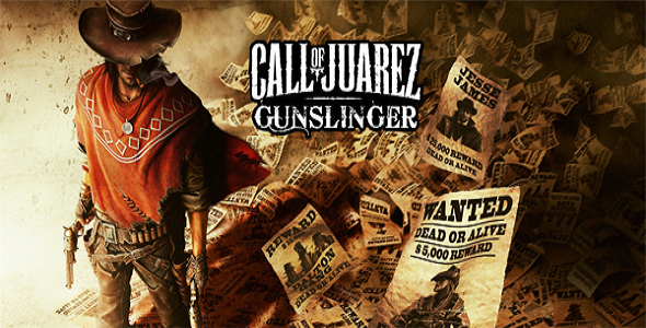 Call Of Juarez Gunslinger - logo