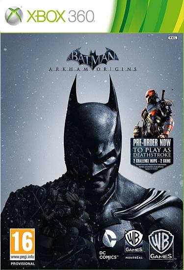 Batman Arkham Origins - Xbox 360 Box Art