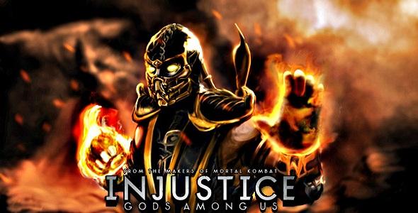 Injustice Gods Among Us - Scorpion