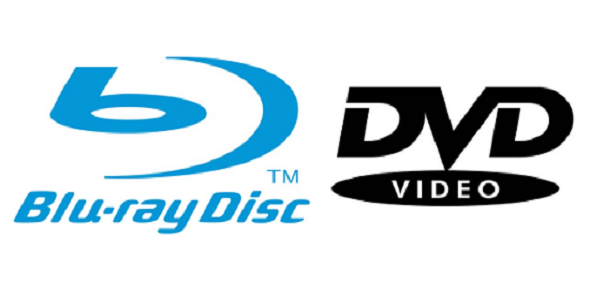 Blu-ray - DVD (logo)