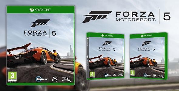 Forza Motorsport 5 - pochette