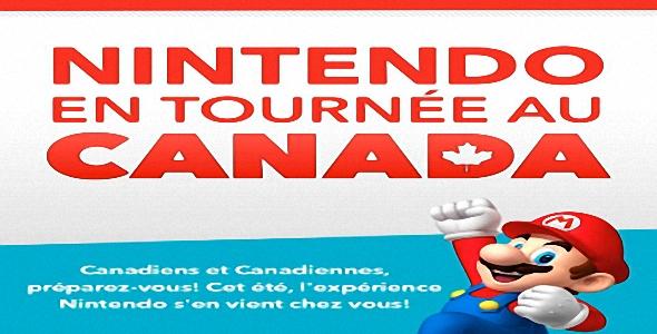 Nintendo - Tournée 2013