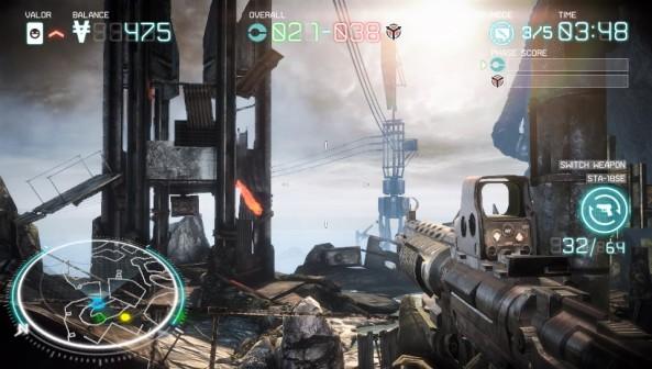 C'est aussi beau que Killzone 3 sur PS3 et ça se joue aussi bien.