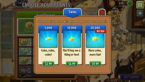 PVZ2 scam
