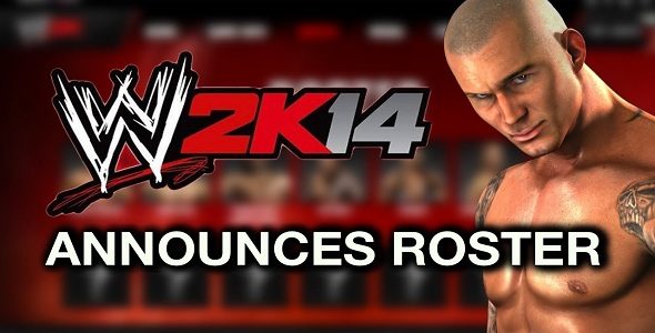 WWE 2K14 - roster