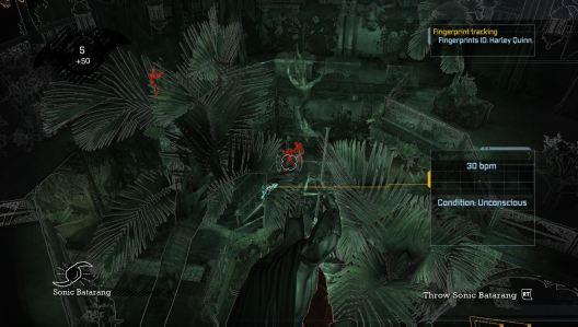 """L'utilisation des gadgets de Batman offre au joueur un véritable accès """"backstage""""."""
