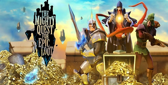 The Mighty Quest For Epic Loot - logo