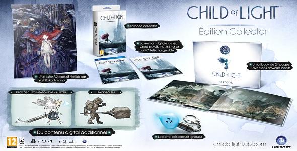 Child Of Light - édition de collection