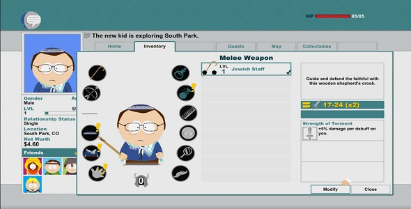 (Test FG - Jeux vidéo) South Park The Stick Of Truth #5