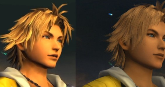 Final Fantasy X, SD vs HD