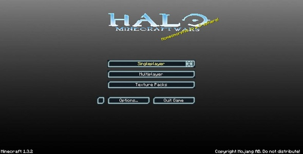 Halo vs Minecraft