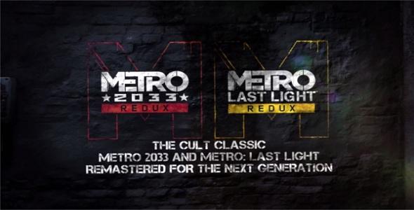 Metro Redux - logo