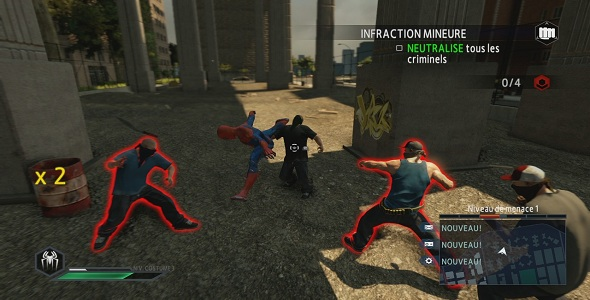 (Test FG - Jeux vidéo) The Amazing Spider-Man 2 #3