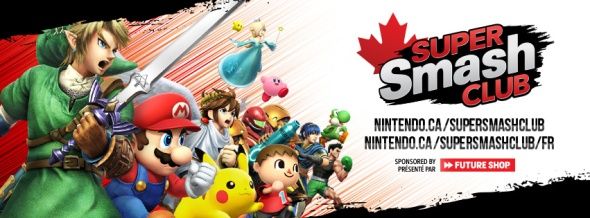Nintendo du Canada Super Smash Club 3