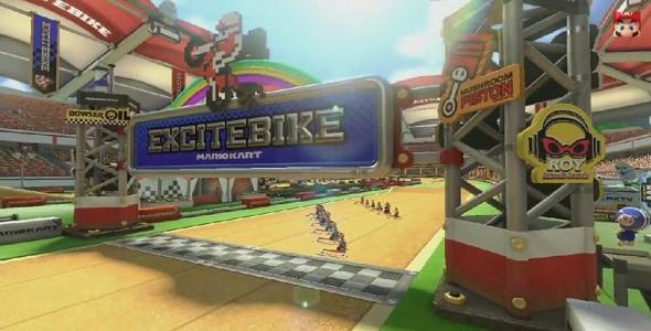 Mario Kart 8 - Excitebike Arena DLC - Pack