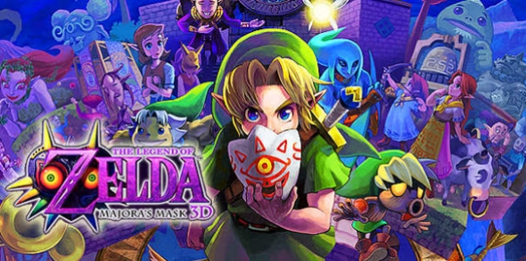 The The Legend Of Zelda - Majora's Mask 3D