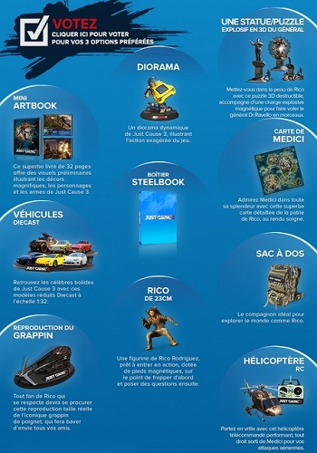Just Cause 3 - Édition de collection