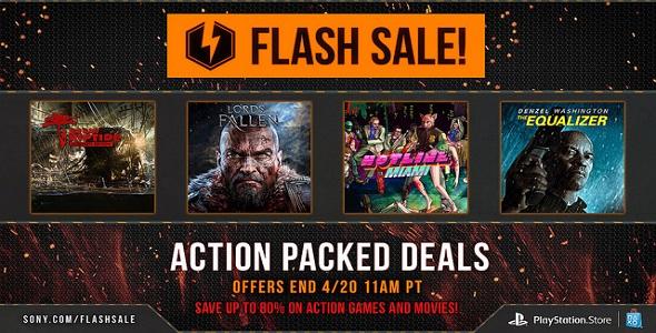 Flash Sale - 18 au 20 avril 2015