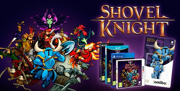 Shovel Knight - version boîte