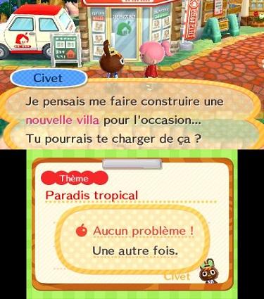 (Test FG - Jeux vidéo) Animal Crossing - Happy Home Designer #2