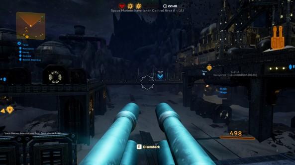 réussir à prendre un canon ou un véhicule peut sembler intéressant, malheureusement la majorité des combats se passe à l'intérieur des salles où sont installé les points de contrôle.