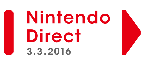Nintendo Direct - 03 mars 2016