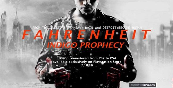 Indigo Prophecy - PS4