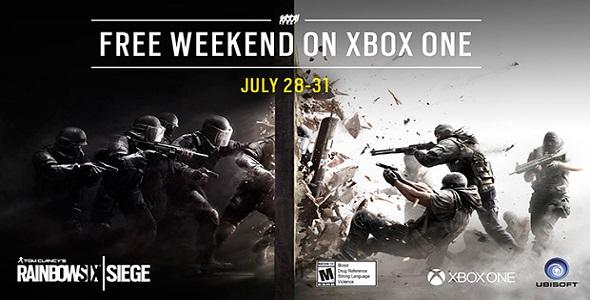 Cette fin de semaine, jouez à Rainbow Six Siege gratuitement sur Xbox One