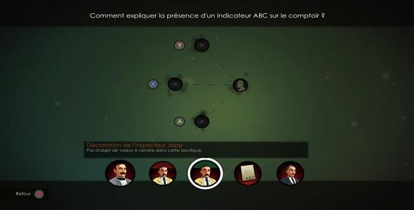 (Test FG - Jeux vidéo) Agatha Christie - The ABC Murders #4
