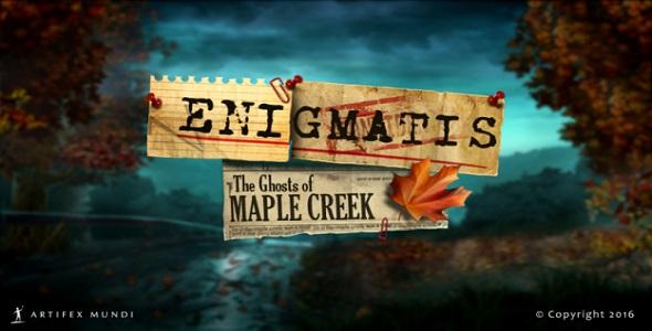 (Test FG - Jeux vidéo) Enigmatis - The Ghosts Of Maple Creek #1