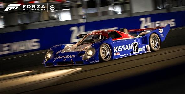 1991 Nissan #23 Nissan R91CP