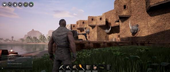 exemple de construction du premier tier construite par un autre joueur.