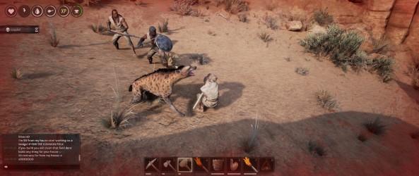 Bon là je suis mort pour la millionième fois parce que un chacal a décidé de joindre la bataille que j'avais entamé contre deux Thralls.