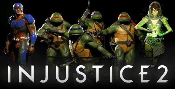 injustice 2 les tortues ninjas - Tortues Ninja Tortues Ninja