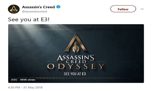 Ubisoft dévoile Assassin's Creed: Odyssey
